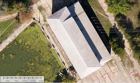 створення топографічного плану 1:2000, ортофотоплану та 3D-моделі місцевості для проектування об'єкту будівництва